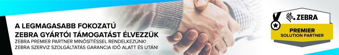 Zebra Premier Partner - címkenyomtató, adatgyűjtő, vonalkódolvasó