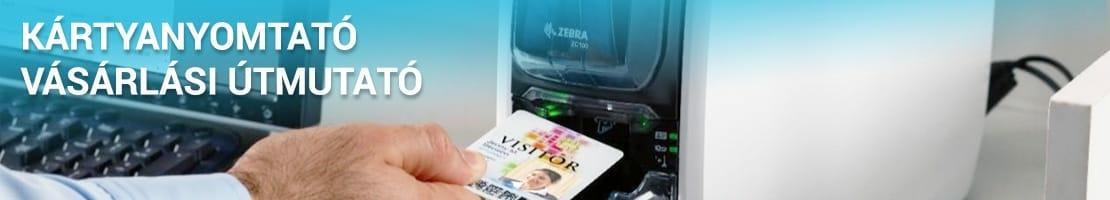 Plasztik kártya nyomtató
