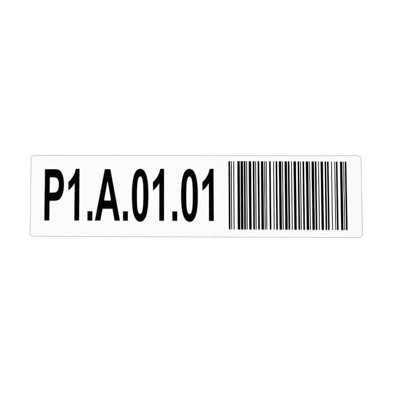 Tárhely etikett címke