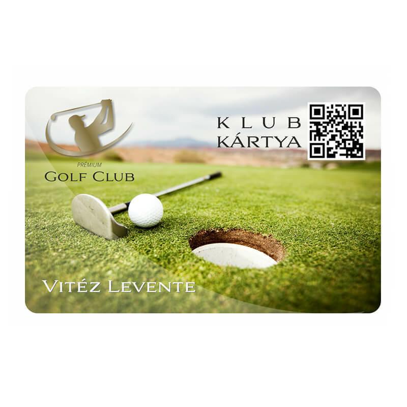 Klub/tagsági kártya nyomtatás