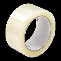 Ragasztószalag, csomagolószalag általános használatra, PP (műanyag), Akril, Transzparens (48 mm x 54,8 m)
