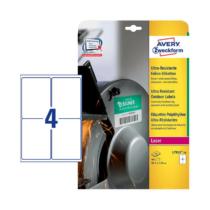 99,1*139 mm-es Avery Zweckform A4 íves etikett címke, fehér színű (10 ív/doboz)