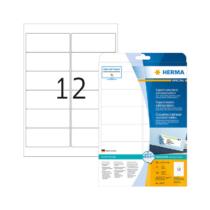 99,1*42,3 mm-es Herma A4 íves etikett címke, fehér színű (25 ív/doboz)
