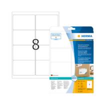 99,1*67,7 mm-es Herma A4 íves etikett címke, fehér színű (25 ív/doboz)