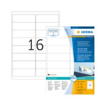 99,1*33,8 mm-es Herma A4 íves etikett címke, fehér színű (100 ív/doboz)
