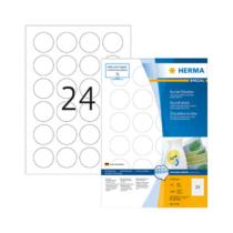 40 mm-es Herma A4 íves etikett címke, fehér színű (100 ív/doboz)