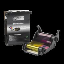 Zebra ZXP1, Fekete festékszalag, 1000 kártya/tekercs