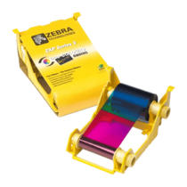 Zebra ZXP3, Piros festékszalag, 1000 kártya/tekercs