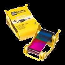 Zebra ZXP3, YMCKOK festékszalag, 165 kárta/tekercs