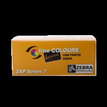 Zebra ZXP7, WrKr (sötét háttér nyomtatásához), 2000 kártya/tekercs