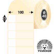 Kábeljelölő, 100 * 30 mm-es 1 Pályás Műanyag címke (500 db/tekercs)