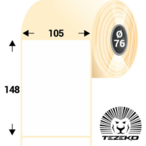 105 * 148 mm-es, 1 pályás Papír címke (1000 címke/tekercs)