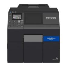 Epson C6000PE vonalkód címke nyomtató