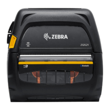 Zebra ZQ521 mobil címkenyomtató (akkumulátor nélküli csomag)