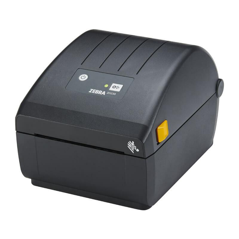 Zebra ZD230d címkenyomtató, 203 dpi + Bluetooth, WiFi