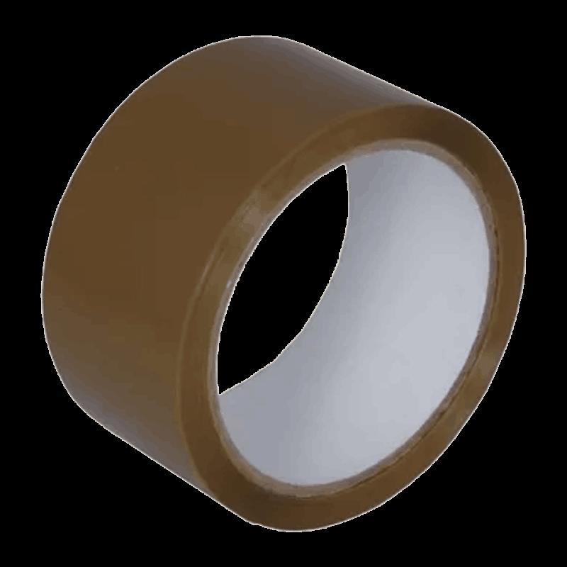 Ragasztószalag, csomagolószalag általános használatra, PP (műanyag), Hot-Melt, Havanna Barna (48 mm x 54,8 m)