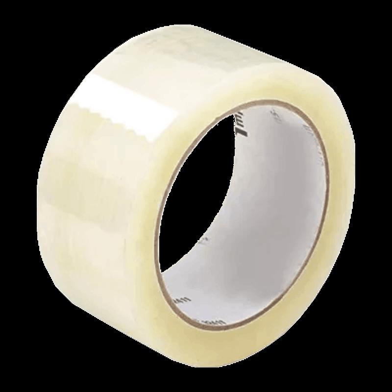 Ragasztószalag, csomagolószalag általános használatra, PP (műanyag), Hot-Melt, Transzparens (48 mm x 54,8 m)