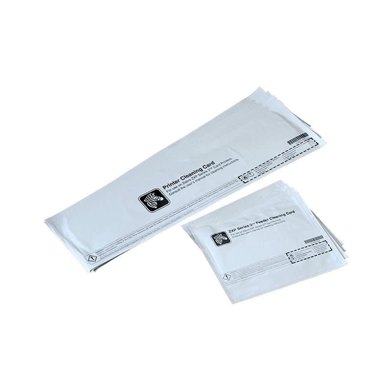 Zebra ZXP1, ZXP3 plasztik kártya nyomtató tiszítószer csomag