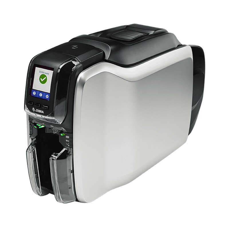 Zebra ZC300 Kártyanyomtató, kétoldalas, USB/Ethernet, Mágneskártya író