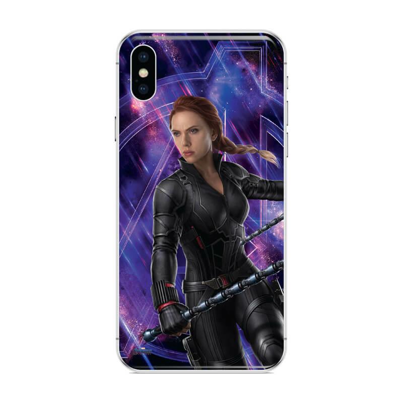 Huawei P Smart 2019 mobiltelefon tok - Black Widow