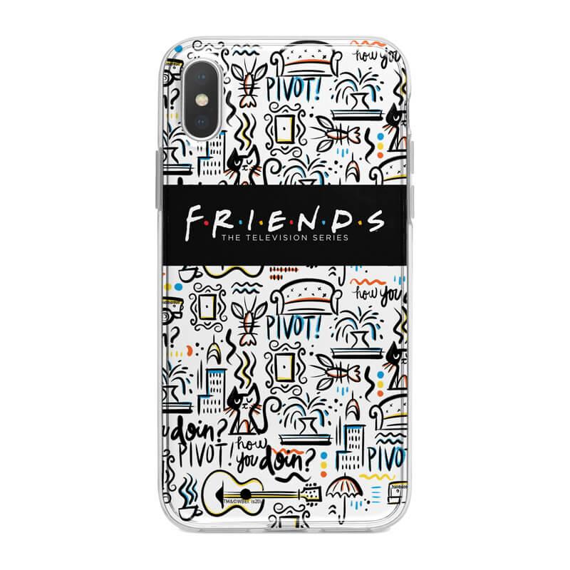 Huawei P Smart 2019 mobiltelefon tok - Friends 03