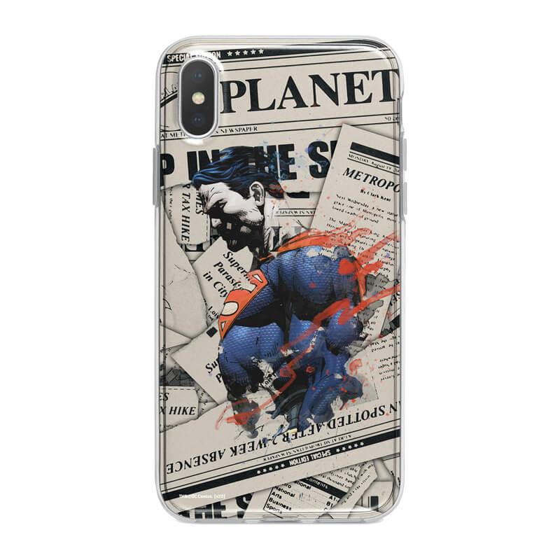 Huawei P40 Lite mobiltelefon tok - Superman 04