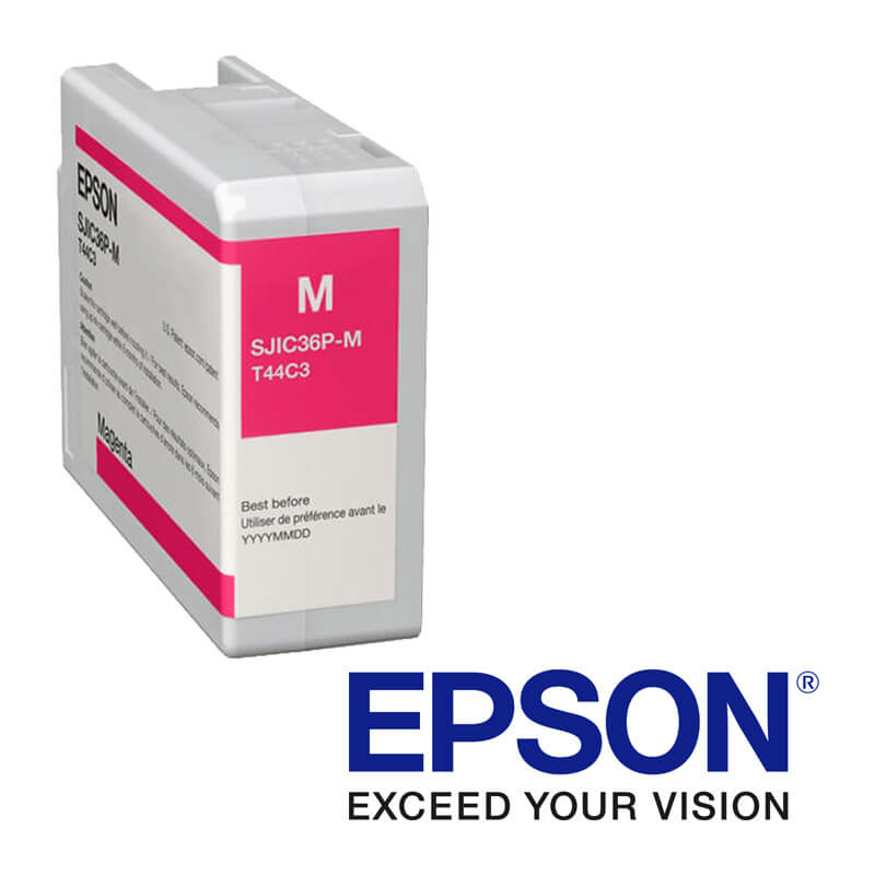 Epson ColorWorks C6000, C6500 tintapatron, Bíborvörös (Magenta)