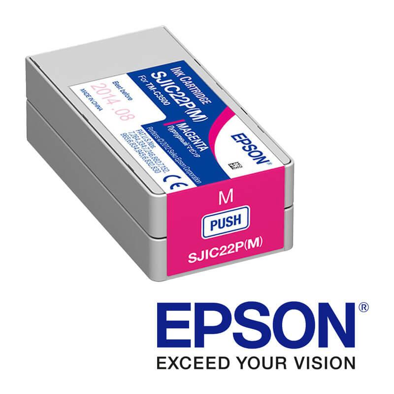 Epson ColorWorks C3500 tintapatron, Magenta (bíborvörös)
