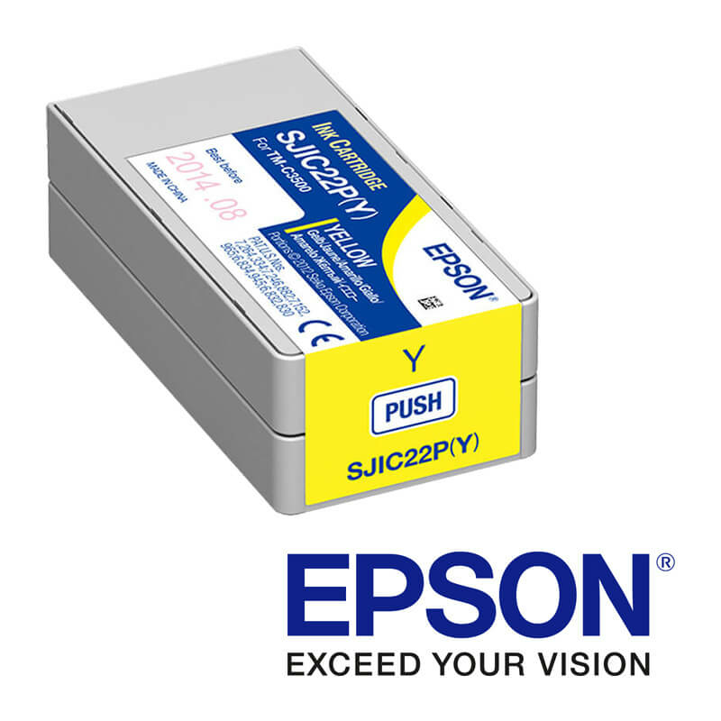 Epson ColorWorks C3500 tintapatron, Sárga