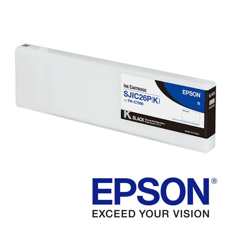 Epson ColorWorks C7500 tintapatron, Fekete