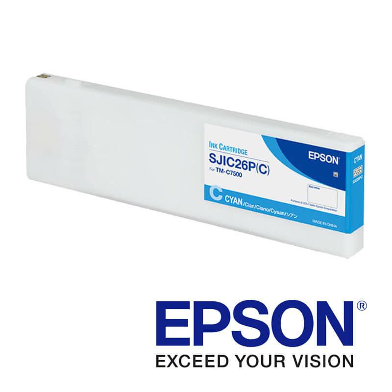 Epson ColorWorks C7500 tintapatron, Kék