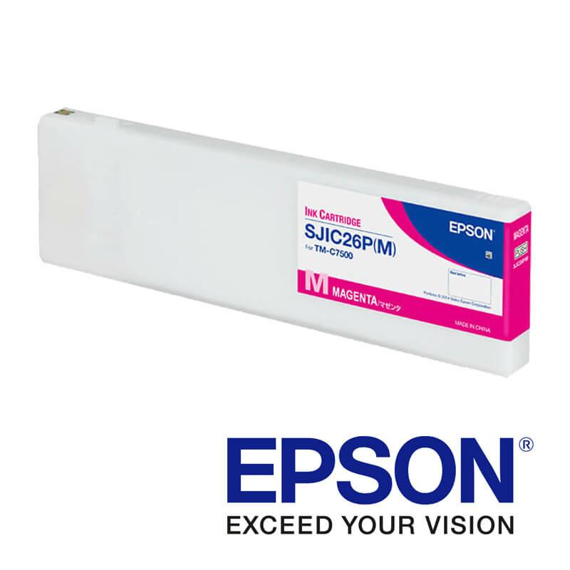 Epson ColorWorks C7500 tintapatron, Magenta (bíborvörös)