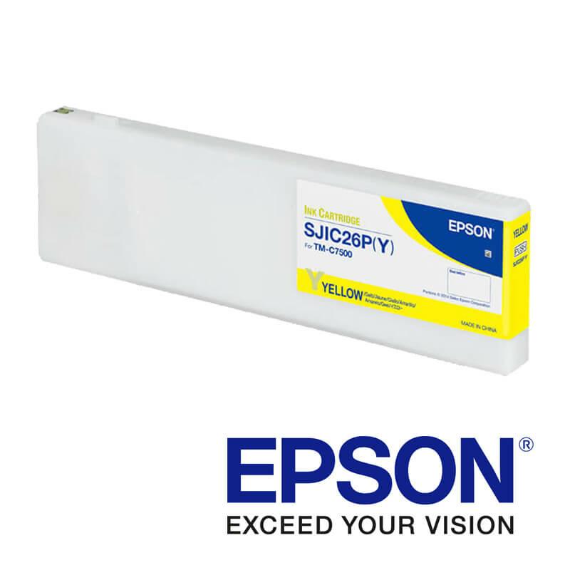 Epson ColorWorks C7500 tintapatron, Sárga