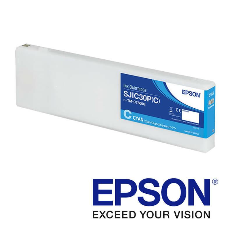 Epson ColorWorks C7500g tintapatron, Kék