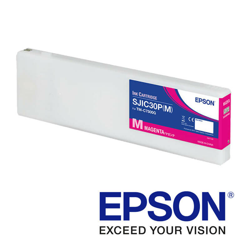 Epson ColorWorks C7500g tintapatron, Magenta (bíborvörös)