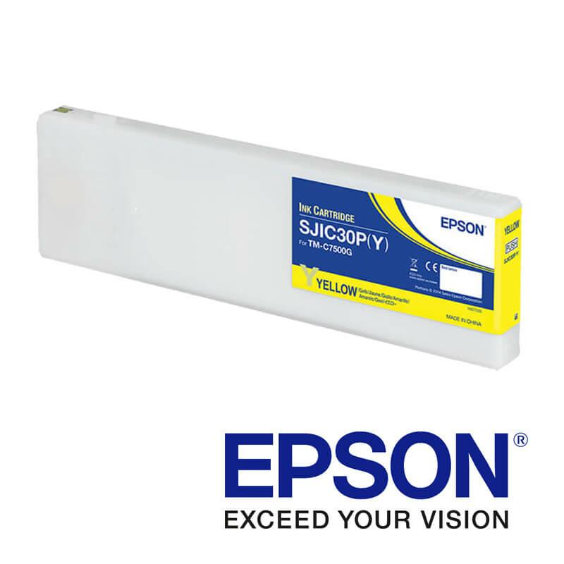 Epson ColorWorks C7500g tintapatron, Sárga