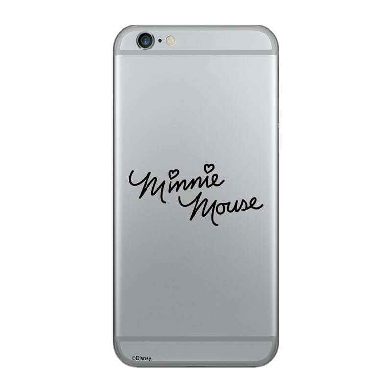 Huawei p20 pro mobiltelefon tok - Minnie Mouse Felirat