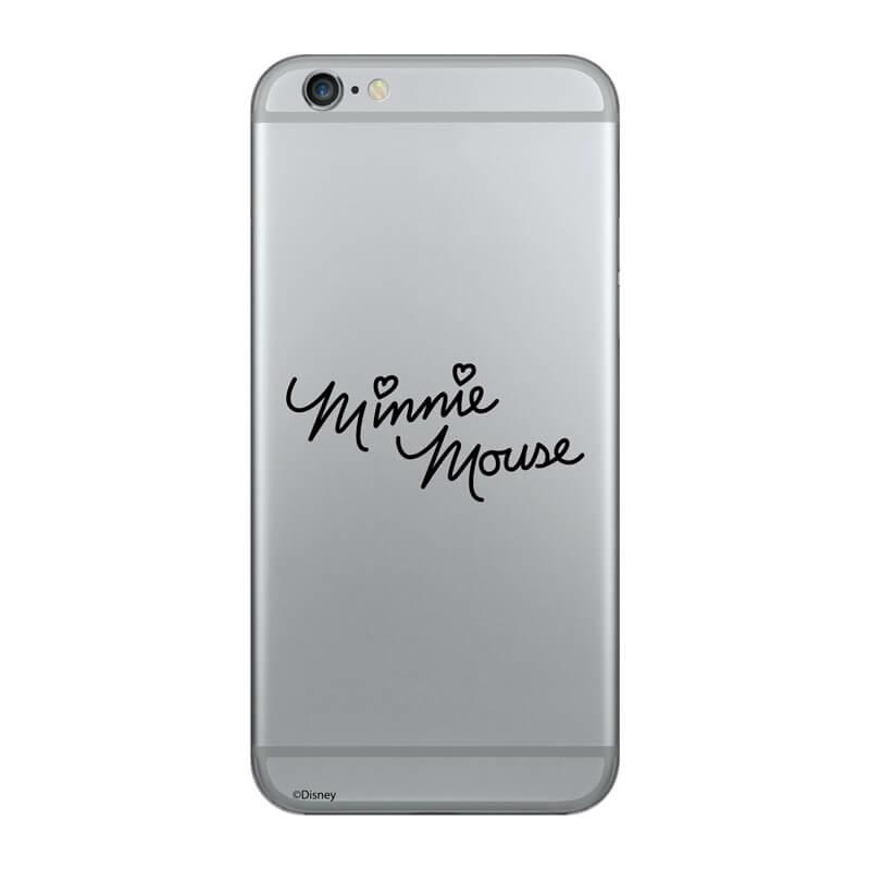 Huawei P Smart Z mobiltelefon tok - Minnie Mouse Felirat