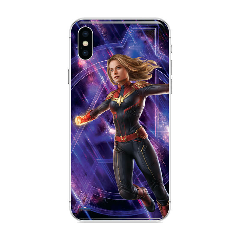 Huawei P Smart 2019 mobiltelefon tok - Marvel Kapitány 2