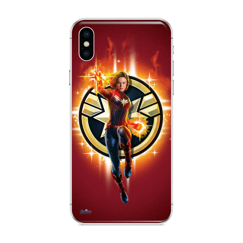 Huawei p30 mobiltelefon tok - Marvel kapitány