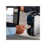 Zebra ZC100 plasztik kártya nyomtató